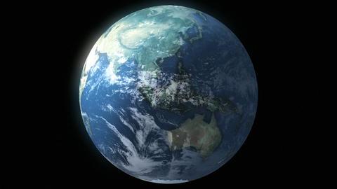 Earth Loop Animation