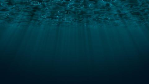 Rain Ocean Loop Stock Video Footage