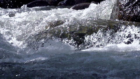 Raging Mountain River Footage