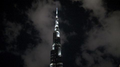 Burj Khalifa time lapse Footage