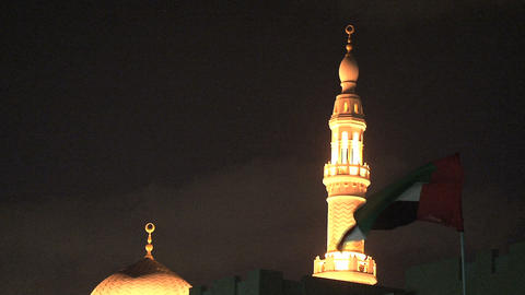 Dubai Mosque Footage