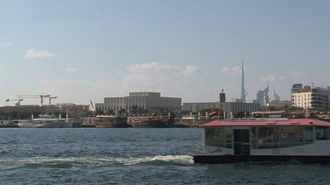 Ferry zoom out Stock Video Footage