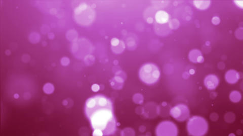 pink particle Animation
