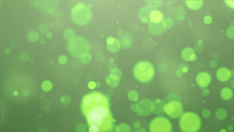 green particle Animation