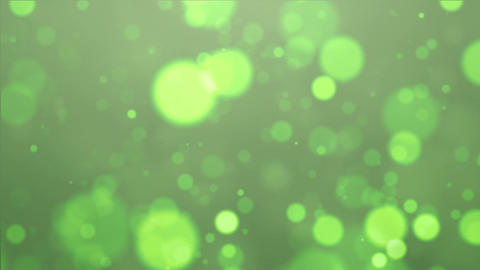 green particle Stock Video Footage