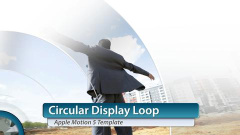 Circular Display - Apple Motion and Final Cut Pro X Template Apple Motion Template