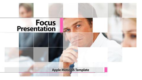 Focus Presentation - Apple Motion and Final Cut Pro X Template Apple Motion Template