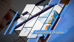 Geometrix Display - Apple Motion and Final Cut Pro X Template Apple Motionテンプレート