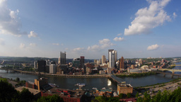 Pittsburgh Skyline Time Lapse Footage