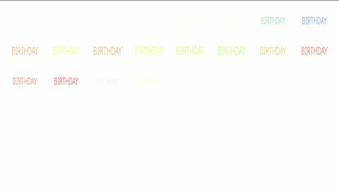 Birthday Stock Video Footage