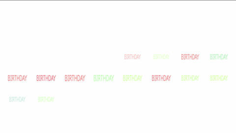 Birthday Animation