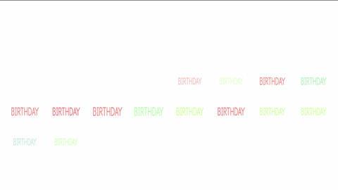 Birthday Animation