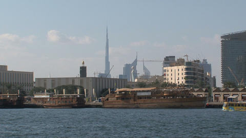 Harbor Dubai Stock Video Footage