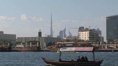 Harbor Dubai Stock Video Footage