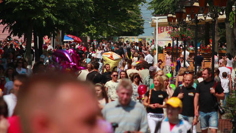 Crowd 1 Stock Video Footage