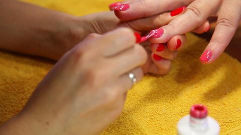 Manicure Footage