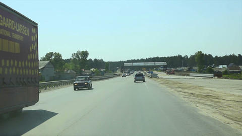 Russian highway Stock Video Footage