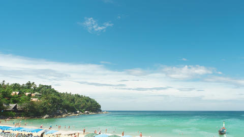 A day at Phuket beach Footage