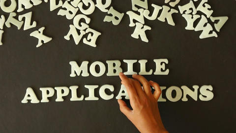 Mobile Applications Footage