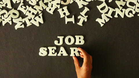 Job Search Stock Video Footage
