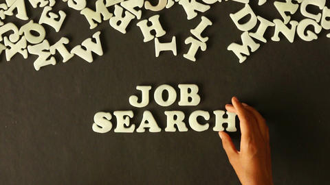 Job Search Footage