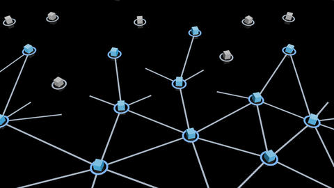 Social Network Connection E 1m 2 Animation