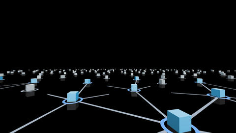 Social Network Connection E 2m 2 Animation