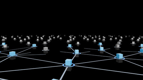 Social Network Connection E 4m 2 Stock Video Footage