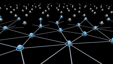 Social Network Connection E 44m 2 Animation