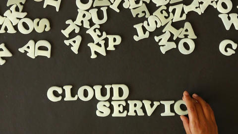 Cloud Service Stock Video Footage