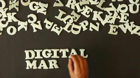 Digital Marketing Stock Video Footage