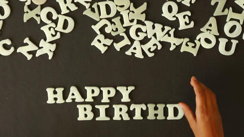 Happy Birthday Footage