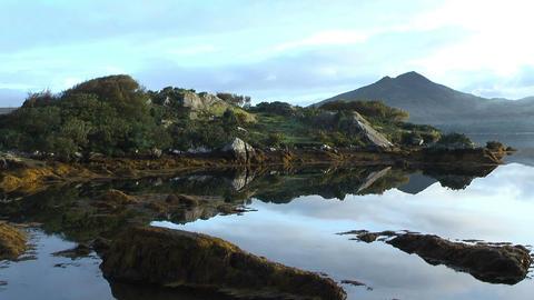 idyllic landscape in ireland Stock Video Footage