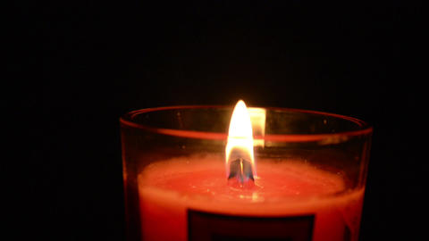 Candle 001 Stock Video Footage