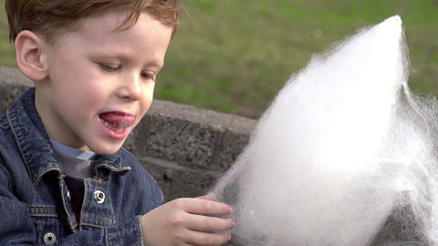 Childrens Treat Stock Video Footage