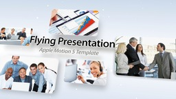 Flying Presentation - Apple Motion and Final Cut Pro X Template Apple Motion Template