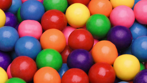 Gumballs Stock Video Footage
