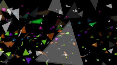 particle set 05 Stock Video Footage