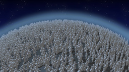 population explosion Stock Video Footage