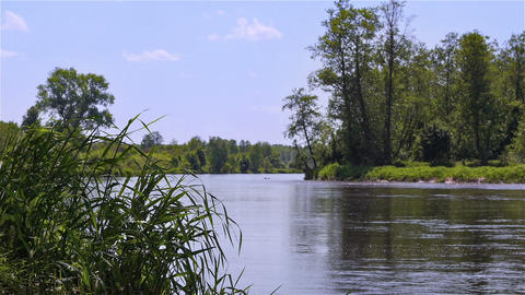 River view Stock Video Footage