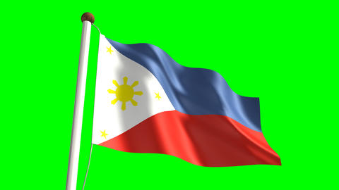 Philippines flag Animation