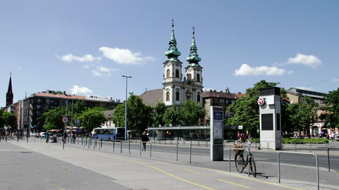 Budapest Hungary Timelapse Daytime 1 Stock Video Footage