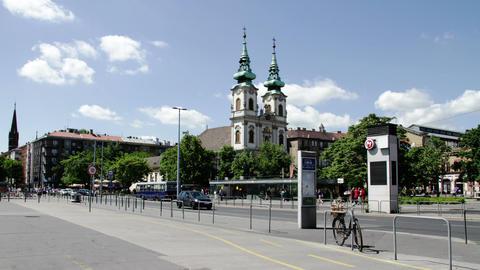 Budapest Hungary Timelapse Daytime 1 Footage