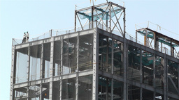 Building Construction Japan 1 Stock Video Footage
