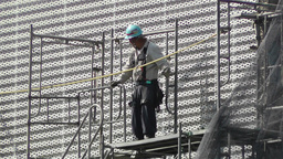 Building Construction Japan 3 Stock Video Footage