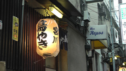Japanese Lantern Stock Video Footage