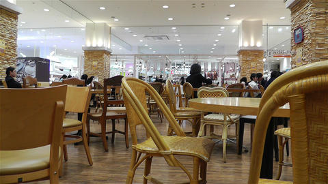 Mall in Yokohama Japan Footage
