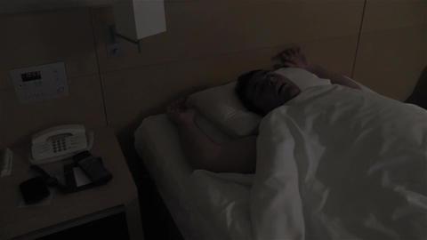 Men Sleeping 1 Stock Video Footage