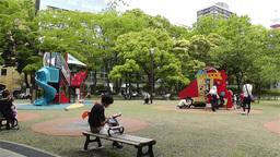 Playground in Yokohama Japan 1 Footage
