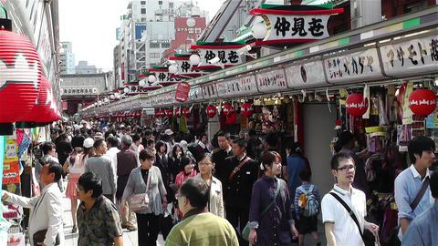 Tokyo Asakusa Japan 5 Footage